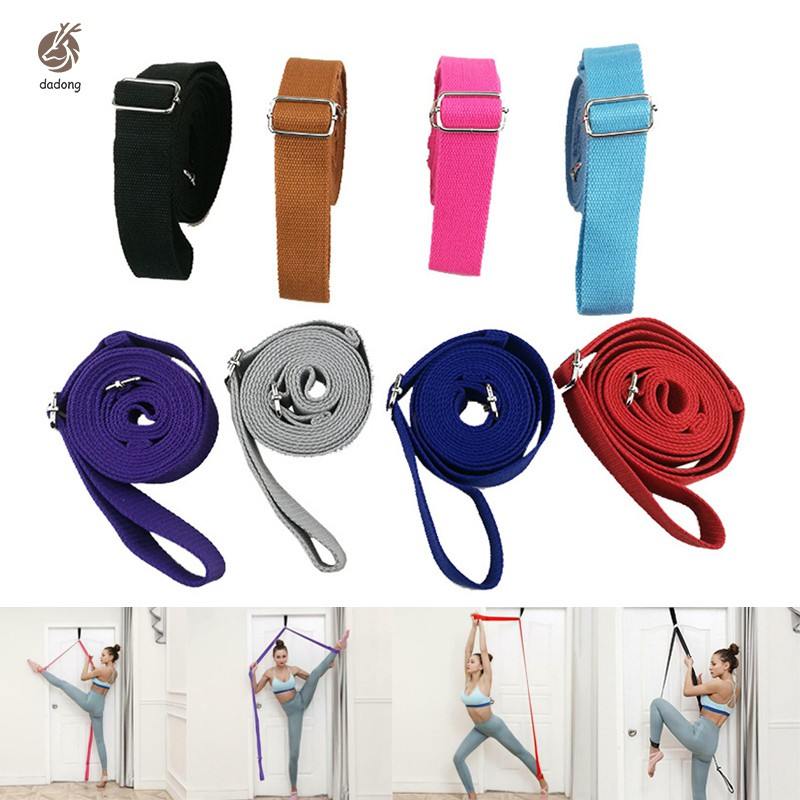 Leg Stretching Tool Dancer Stretch Band Strap Exercise For Home Dance Ballet Yoga Shopee Singapore