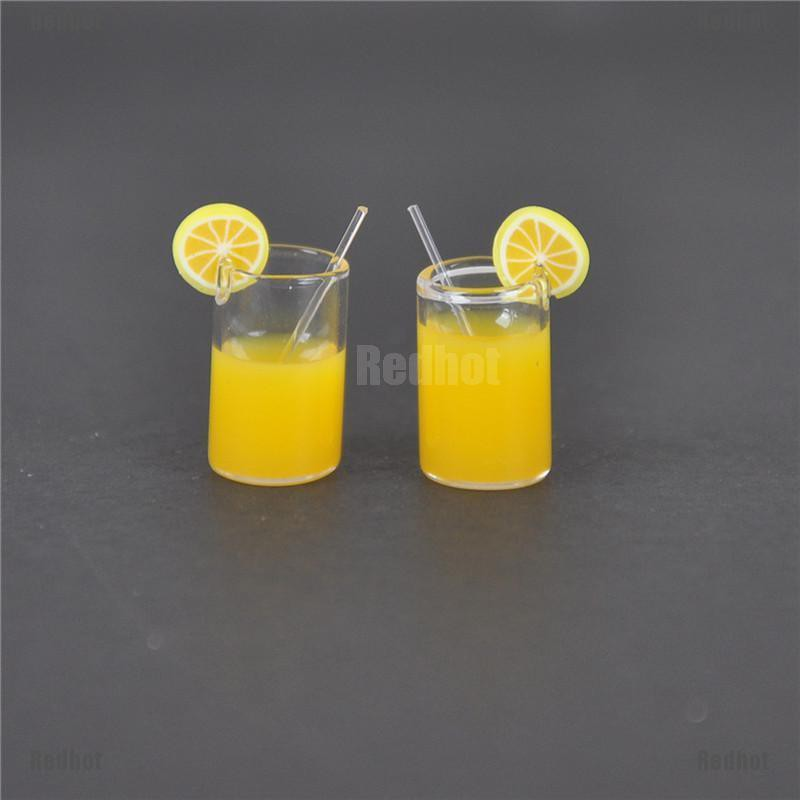 1:12 Dollhouse Mini Beer Cups Miniature Drink of Beer Model Toy bh