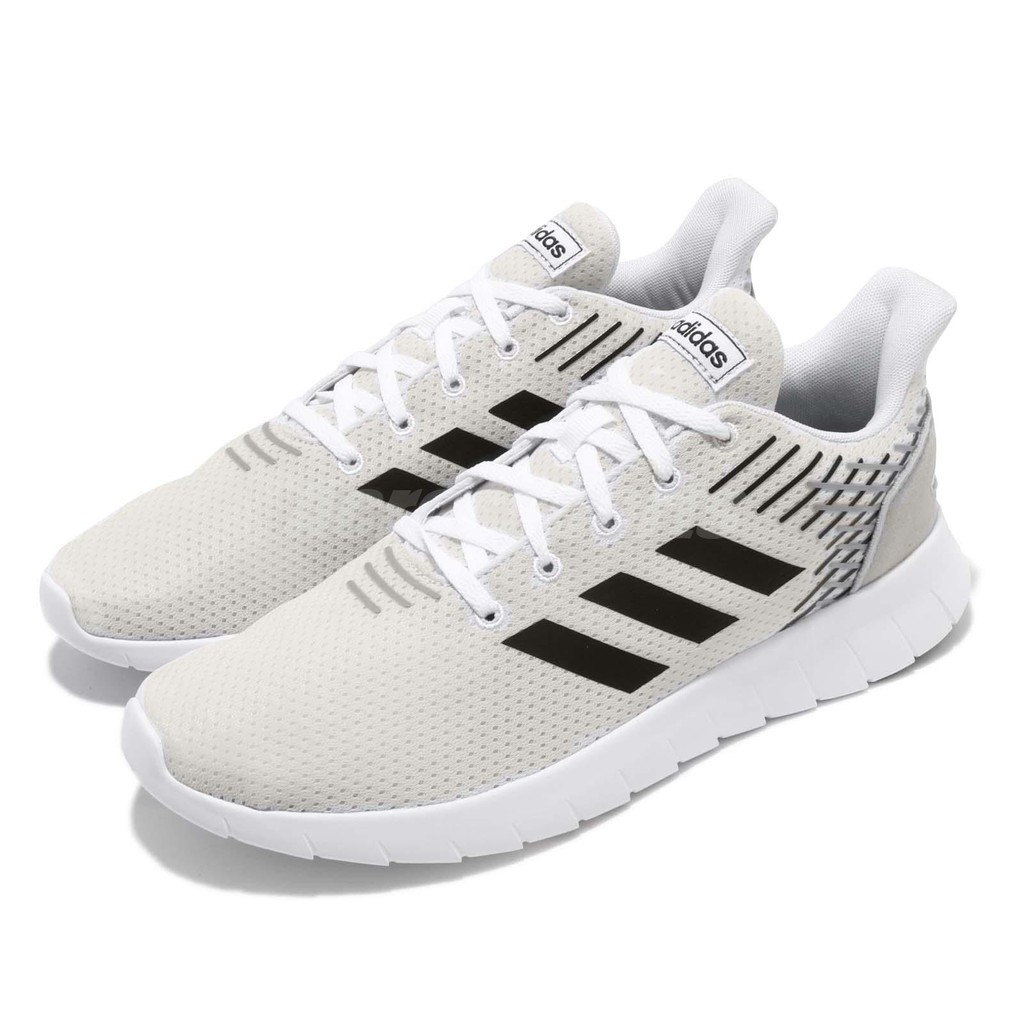 Adidas Unisex Asweerun Shoes F36332 Cloude WhiteBlackGrey