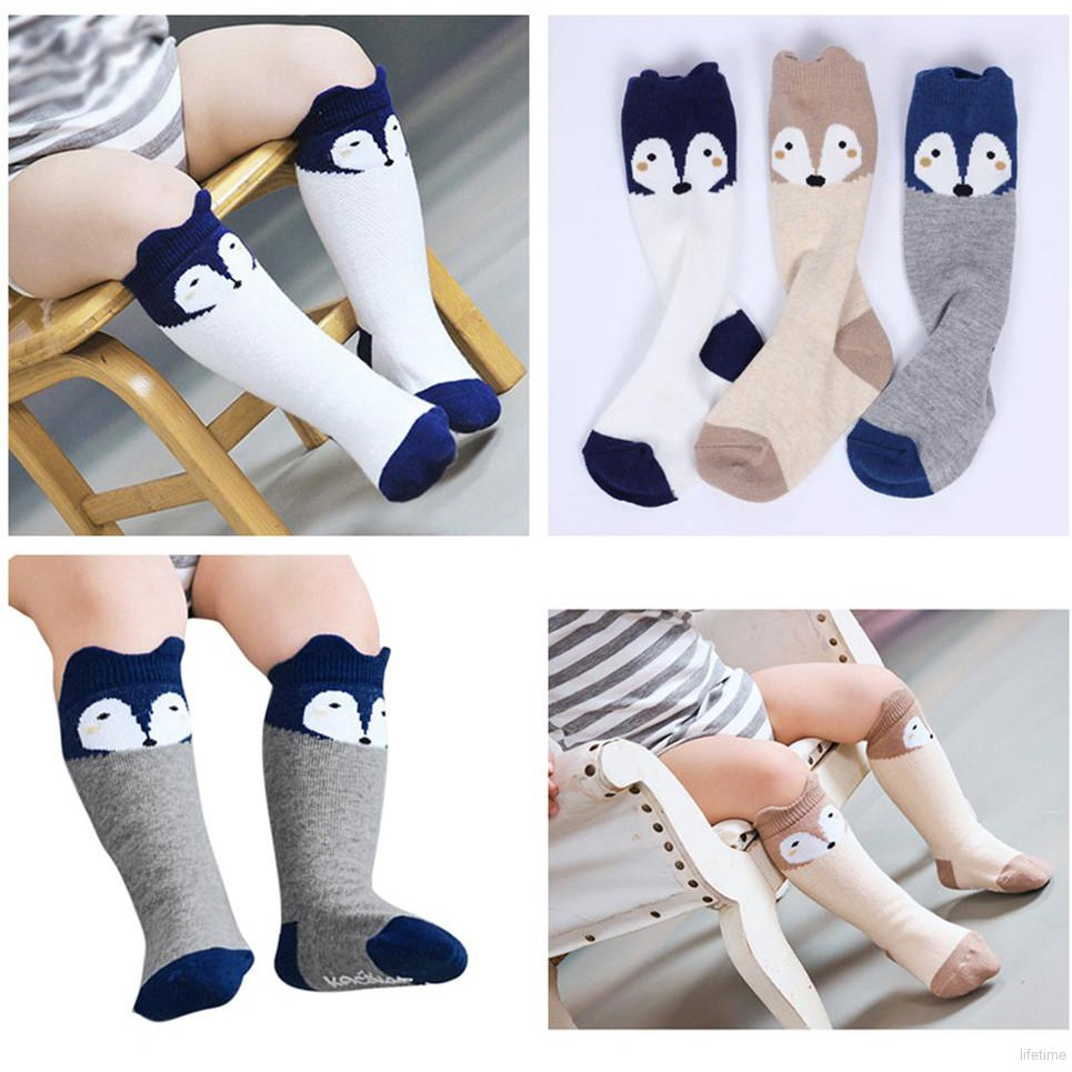 Yellow Duck1 Catnew Fashion Cute Kids Anti Slip Socks Infant Boys Girls Toddler Baby Ankle Cartoon Animals Cotton Socks size S 0-1y