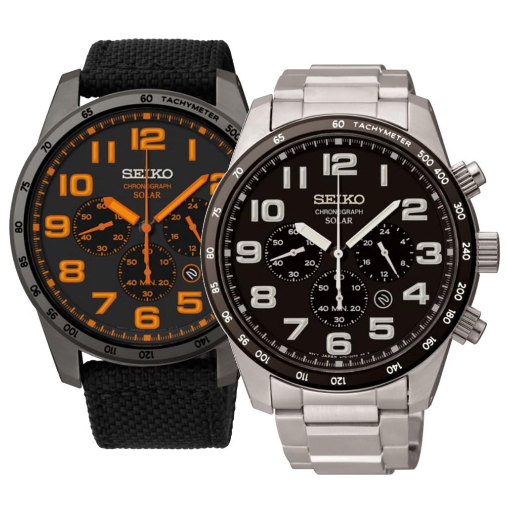 Seiko Prospex Sky Solar Powered Chronograph Watch Series Shopee Ssc347p1 Blue Dial Stainless Singapore