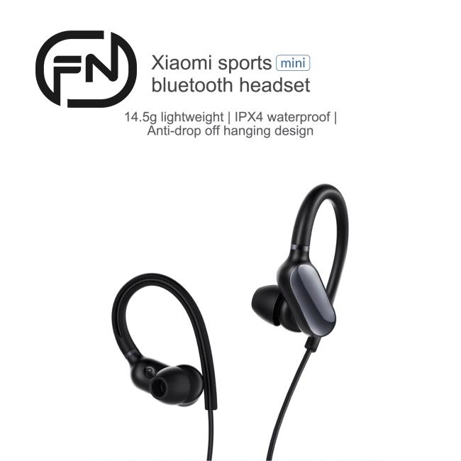 Xiaomi Mi Sports Bluetooth Headset Mini Version Wireless Bluetooth 4 1 Waterproof Headphones Sr Shopee Singapore
