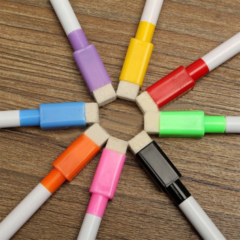 Fast-drying Magnet Pens Colorful 4.4inch 8pcs White Board Ceramics Gift