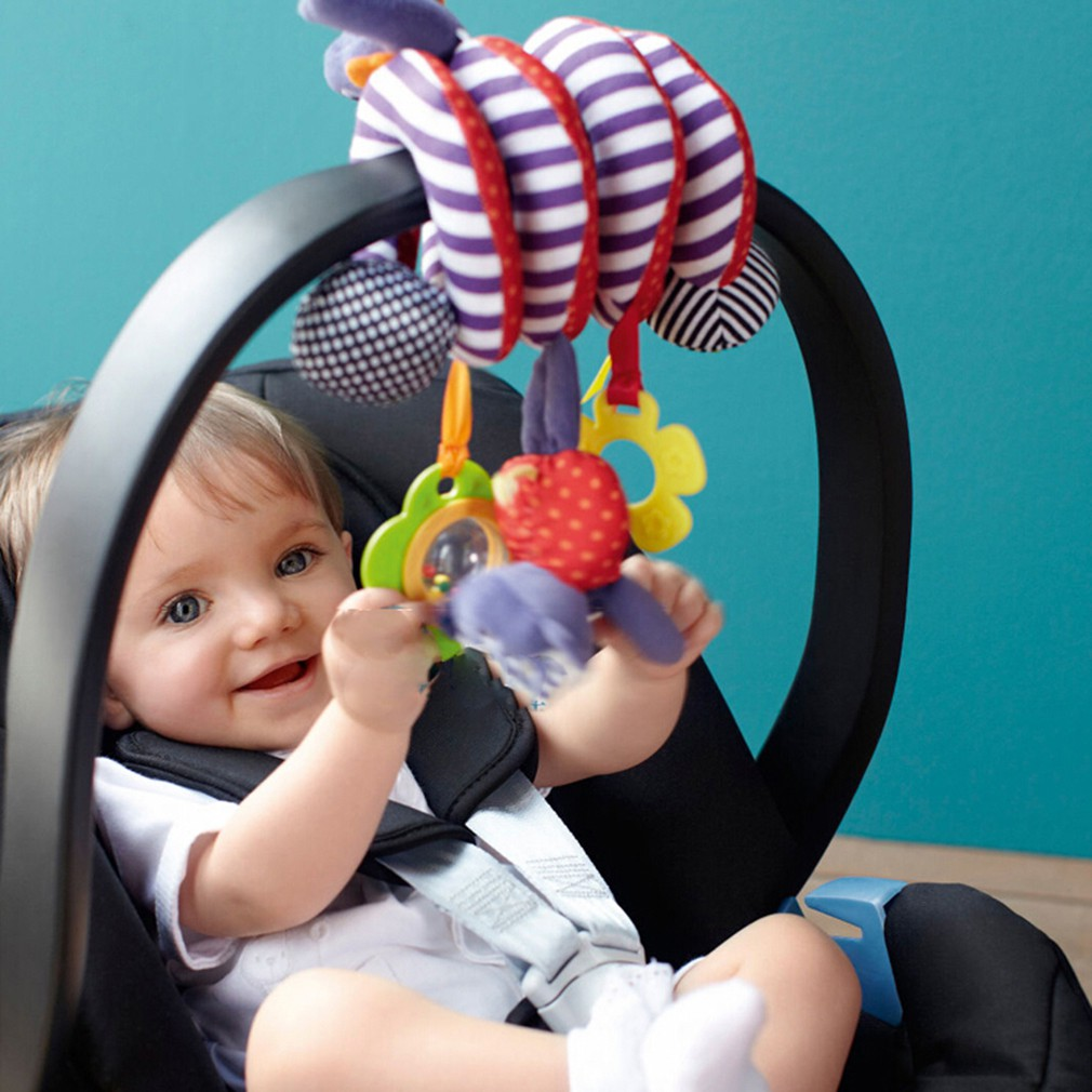 Elephant Funkeet Infant Stroller Toys Newborn Bed Hanging Toys Car Seat Toy for Baby