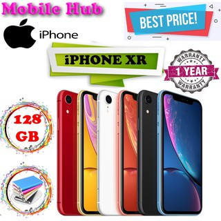 Apple iPhone XR 128GB / 1 Year Apple Warranty | Shopee Singapore