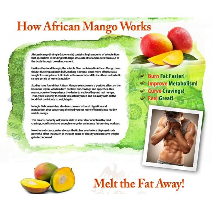 Bhk S African Mango Veg Capsule Shopee Singapore