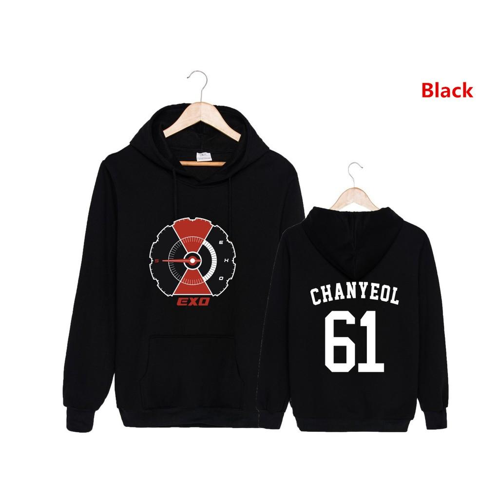 7de808c58f2 JN903 EXO BAEKHYUN 5th Album DON T MESS UP MY TEMPO Sweatshirt Hoodies  Pullover Coat