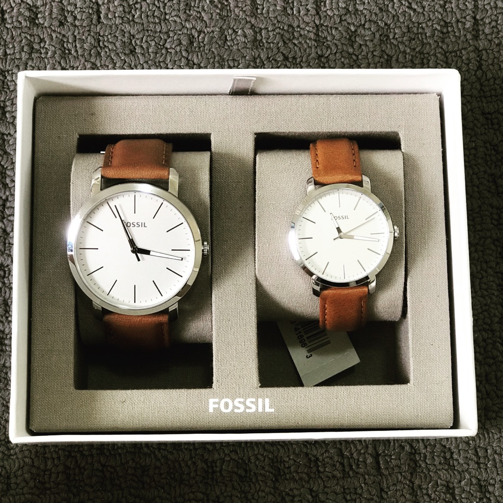 Fossil couple watches