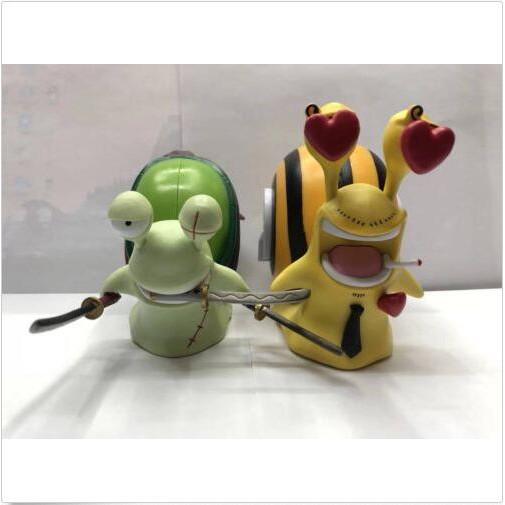 Anime One Piece Roronoa Zoro Sanji Den Den Mushi PVC Figure 2pcs//set NO BOX