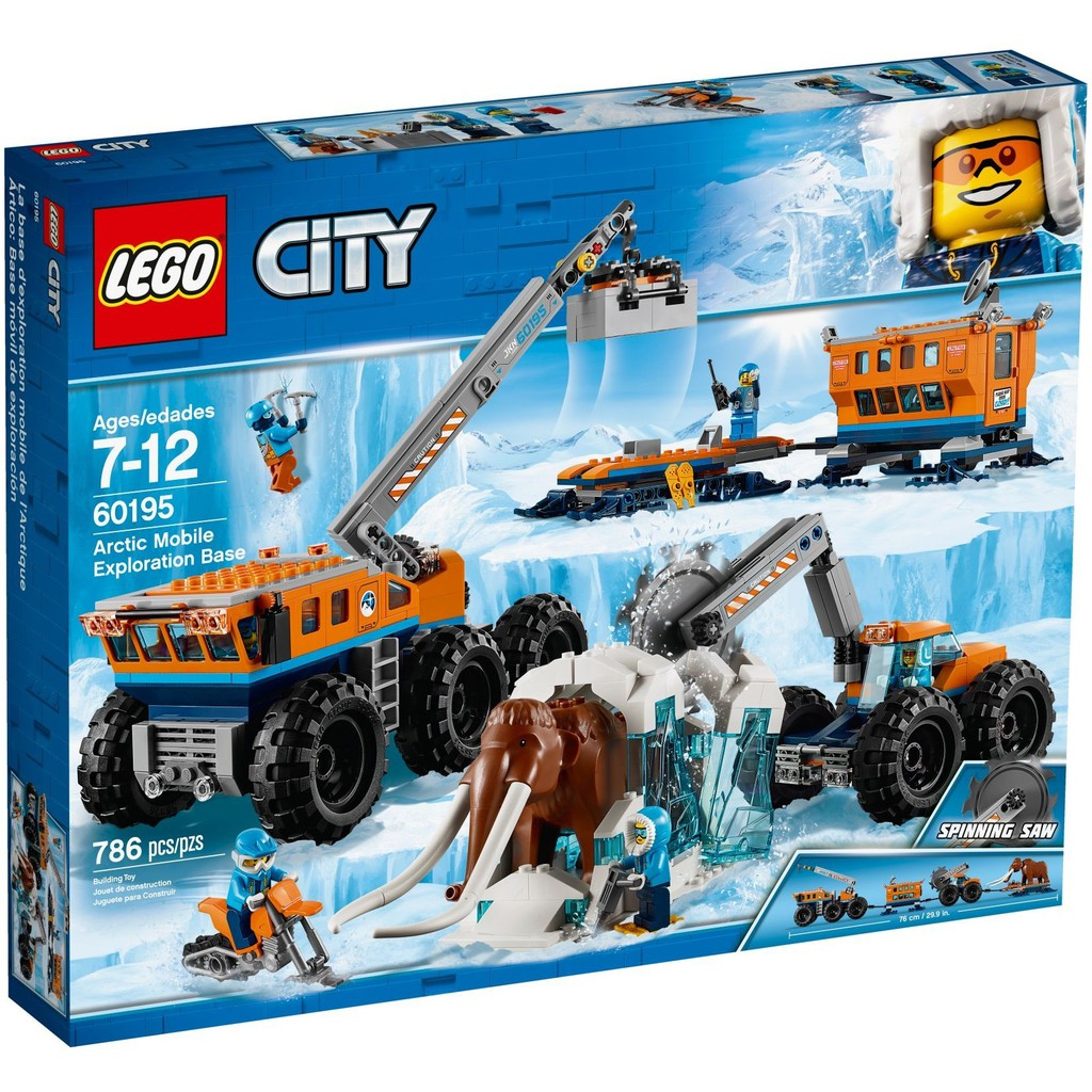 LEGO City Arctic Expedition 60195 Arctic Mobile ...