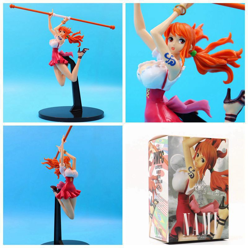 One Piece 3/'/' Nami New World Trading Figure Anime NEW