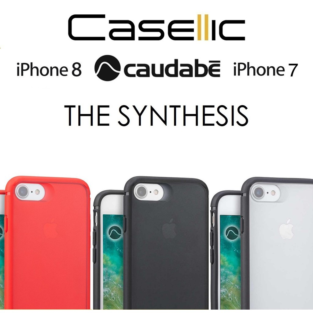 best service 1653b bea4d Caudabe iPhone 8/7 The Synthesis Rugged Minimalist Case