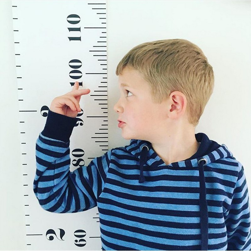 Child Growth Chart Height Scale Height Measurement Sticker As