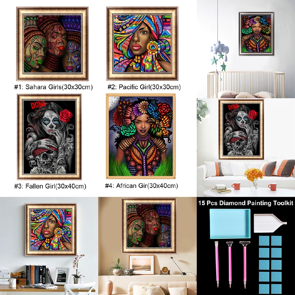 5D Artist Painting Kit Size:30x40 cm DIY Cross Stitch Kit Diamond Embroidery Kit for Art /& Craft Starry Night Home Decor Living Room Wall Decor Great Designs
