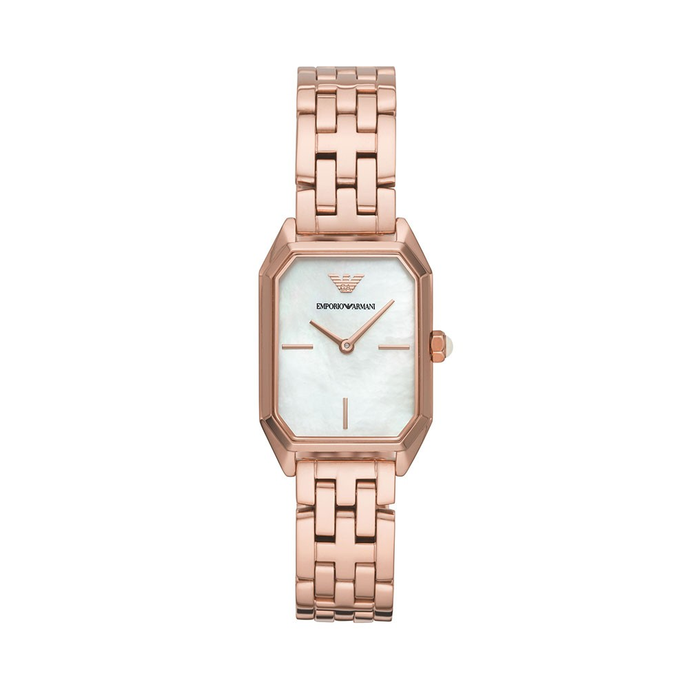 98d05a78 Original Emporio Armani Women's Rose Gold-Tone Stainless Steel Watch AR11147