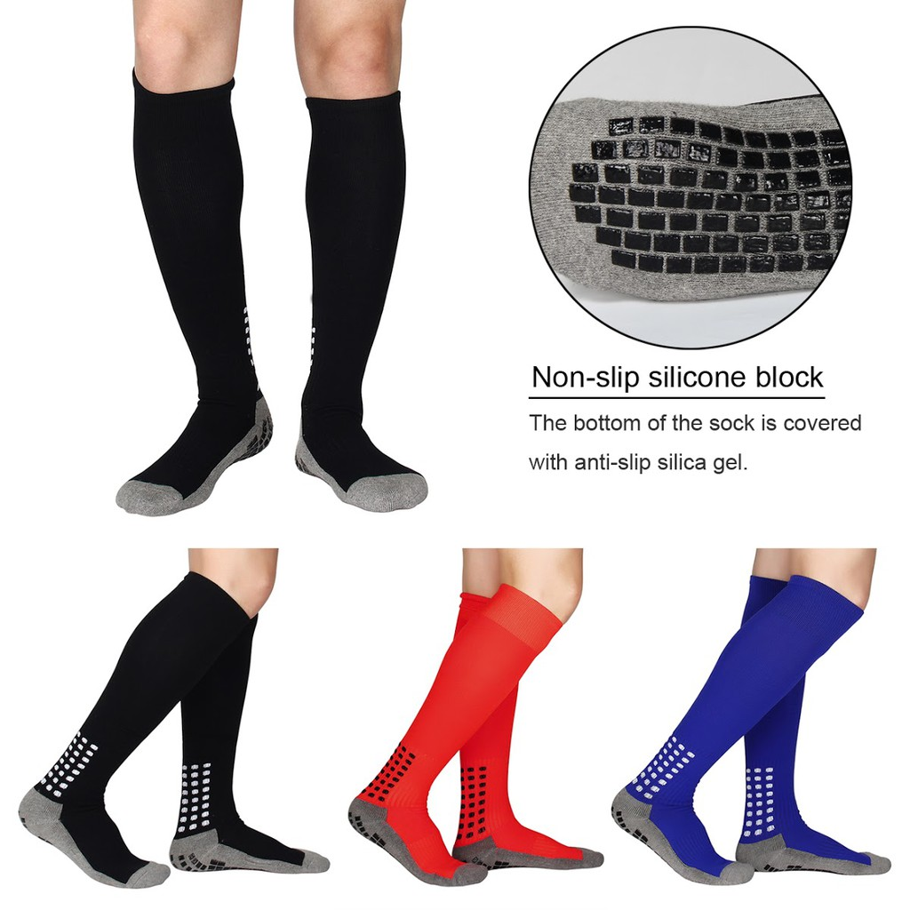 Underwear & Sleepwears Anti Slip Mens Male Football Socks Soccer Sports Running Long Stockings Leg Compression Stretch Knee High Cotton Silica Gel