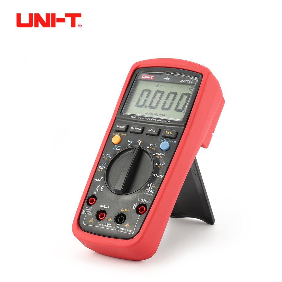 ZT102 Digital Multimeter 6000 Counts Backlight AC/DC Meter Ammeter Voltmeter | Shopee Singapore