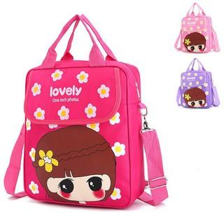 Cute Children Cartoon Little Girl Design Portable Durable backpack School  Bag   Shopee Singapore d069d8fdc8