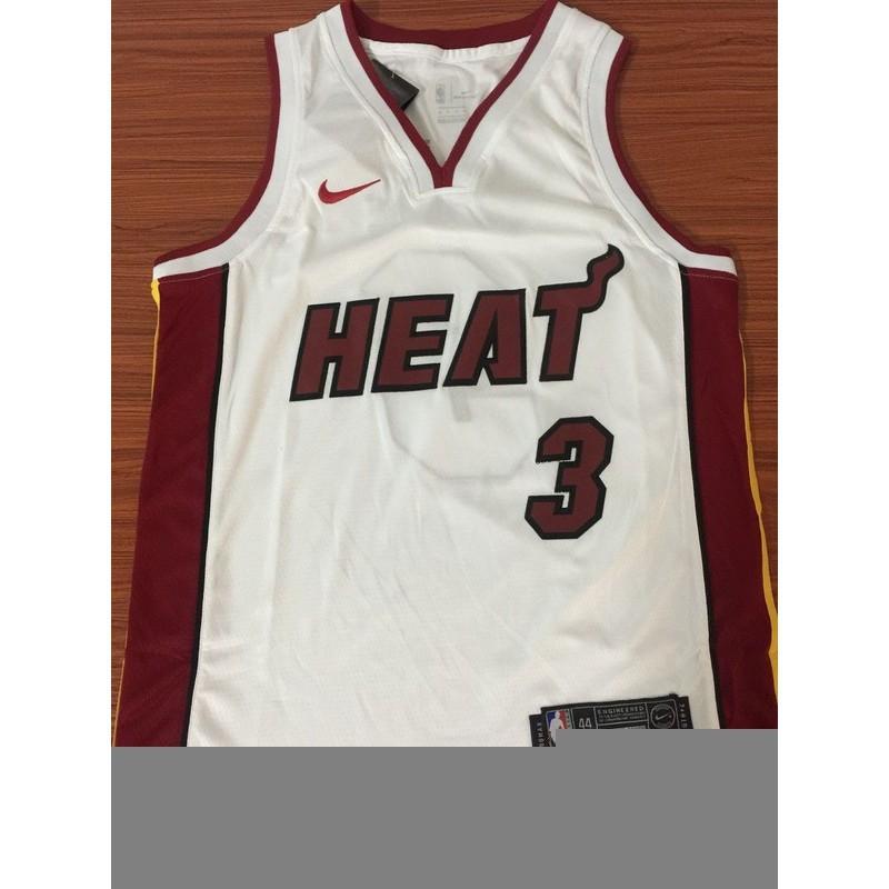 G-III Sports Mens Heat #3 Dwyane Wade White City Dwyane Jersey