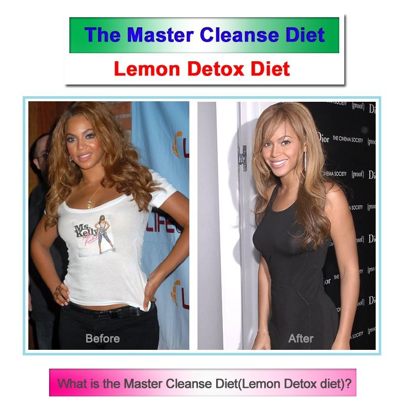 Beyonce Master Cleanse Diet Lemon Detox Slimming Fat Burner