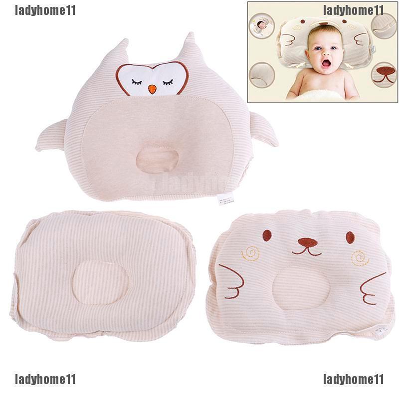 Newborn baby cotton pillows infant head sleeping support cushion pilloRSDE