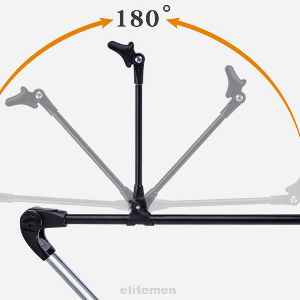 Y Shape Ground Insert Portable Fishing Rod Holder Stable Adjustable Telescopic