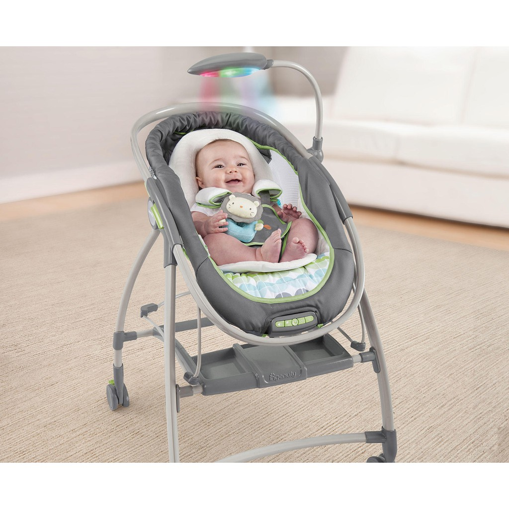 Ingenuity Bright Starts InReach Mobile Lounger and Bouncer