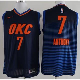 best website 188ad b55c9 2018 Original Nike NBA Oklahoma City Thunder Carmelo Anthony ...