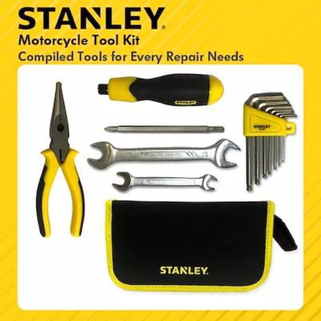 Stanley Motorcycle Tools Kit Set