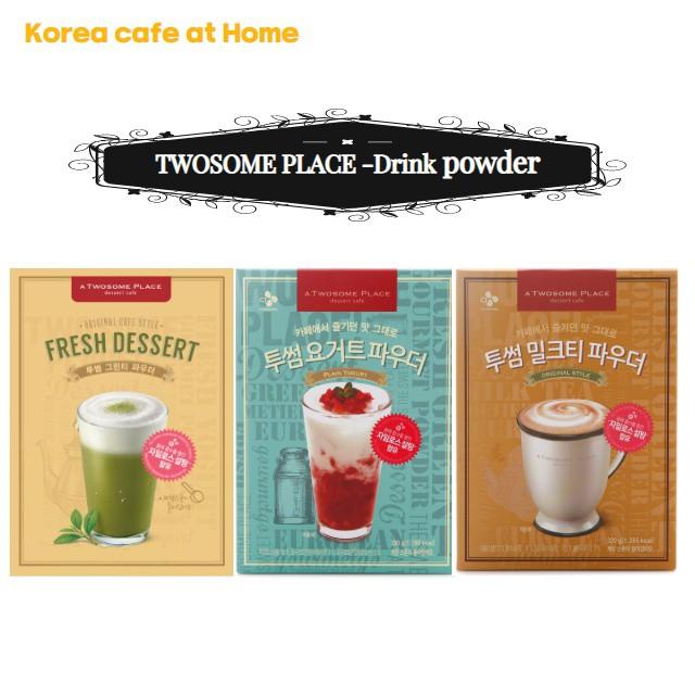 CJ Korea cafe Drinks at home - Green tea, Yogurt, Milk tea Powder