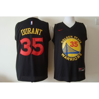 wholesale dealer fcaf6 99f3f Cheap Kevin Durant #35 Golden State Warriors Black Red Nike ...