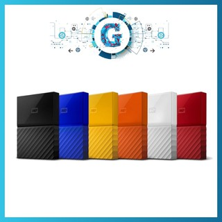 Western Digital WD My Passport External HDD - 1TB | 2TB Slim |  4TB