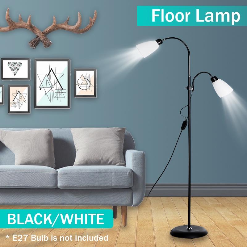 Standing Modern Floor Lamp Double Head