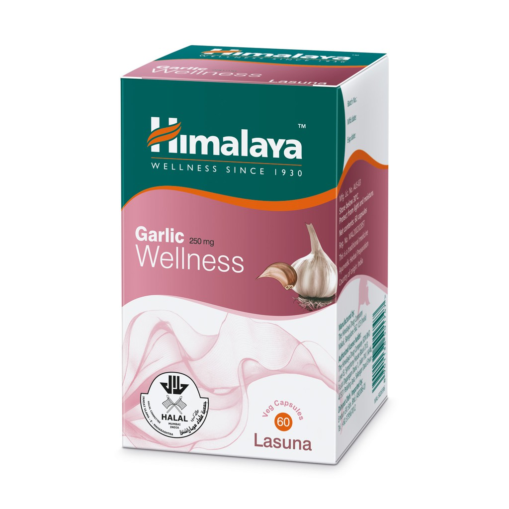 Himalaya Garlic Wellness Lasuna 60's