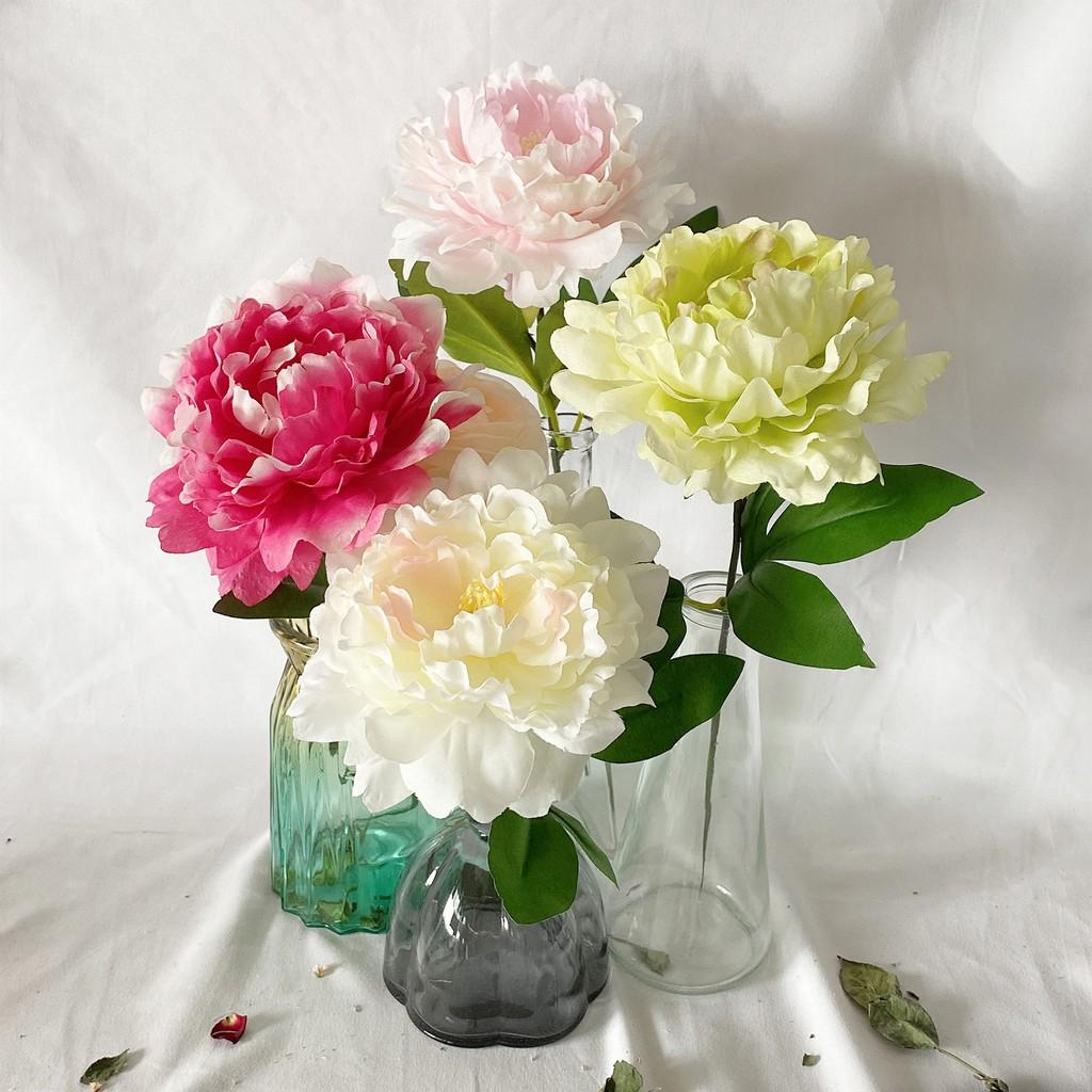 1 Bunch Peony Artificial Garden Poppy Silk Fake Flower Bridal Bouquet Wedding Party Home Decor Shopee Singapore
