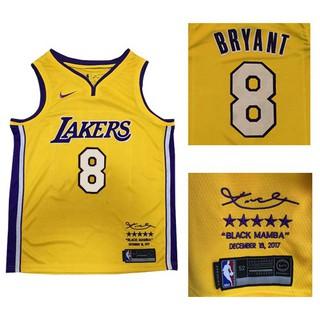 watch 4b355 48575 Nice Nike Lakers #8 Kobe Bryant Gold NBA Swingman