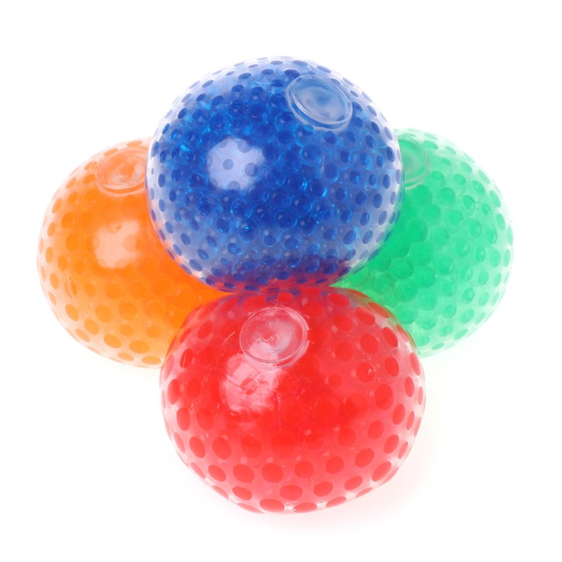 Squishy Mesh  Ball Squeeze Anti Stress Reliever Kids Child Toy 7cm