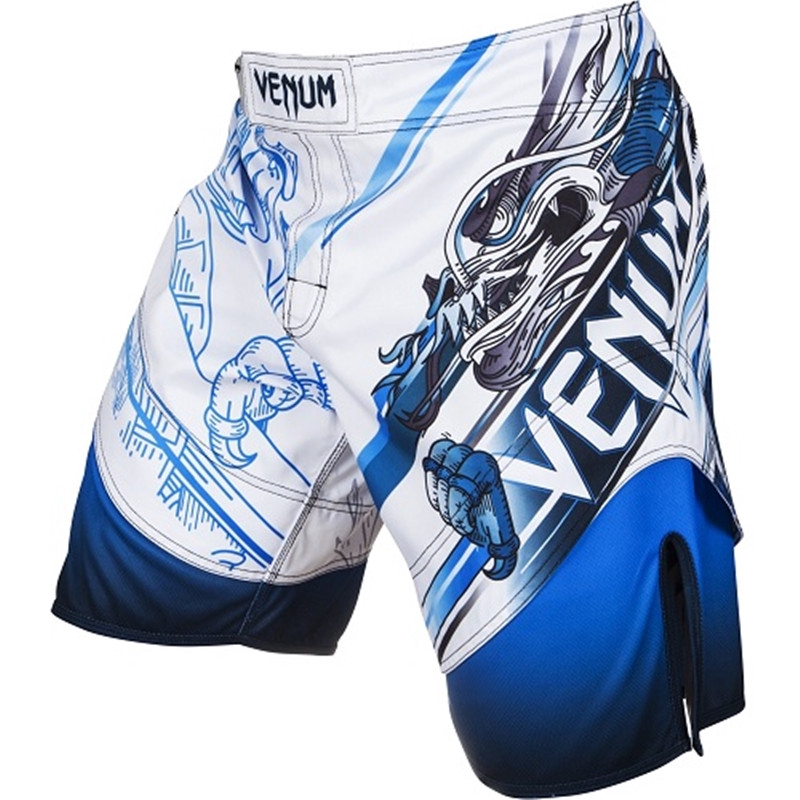 MMA Fitness Fighting Pants Martial Arts Shorts Sports Men/'s Clothing Dragon