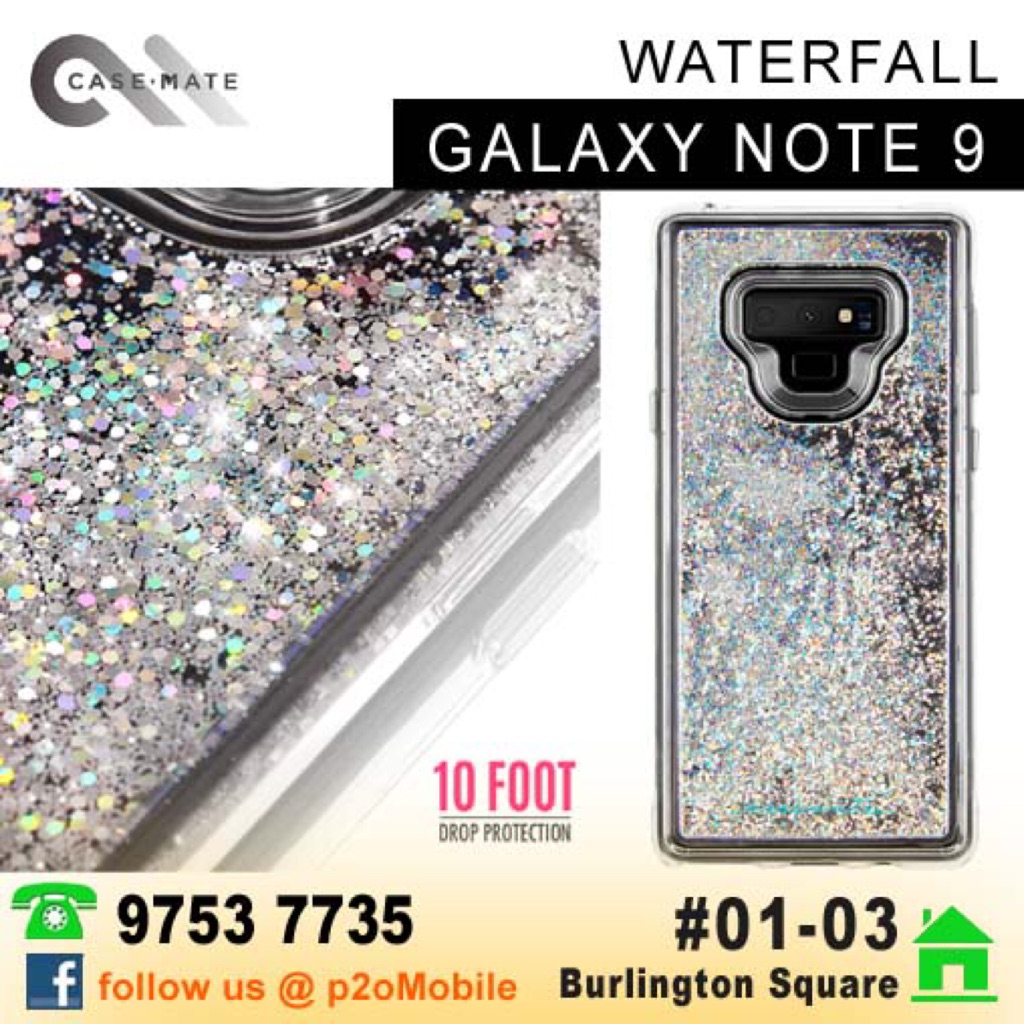 premium selection d8732 a4871 Case-Mate WaterFall Iridescent for Samsung Note 9