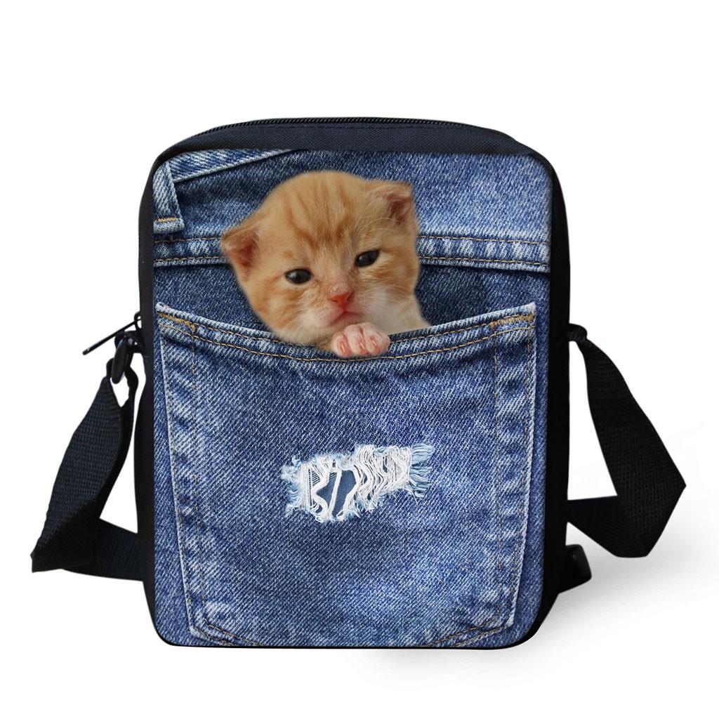 9d9d48b5cbcc BST✿3D Animal Print Handbags Crossbody Small Shoulder Travel Bags ...