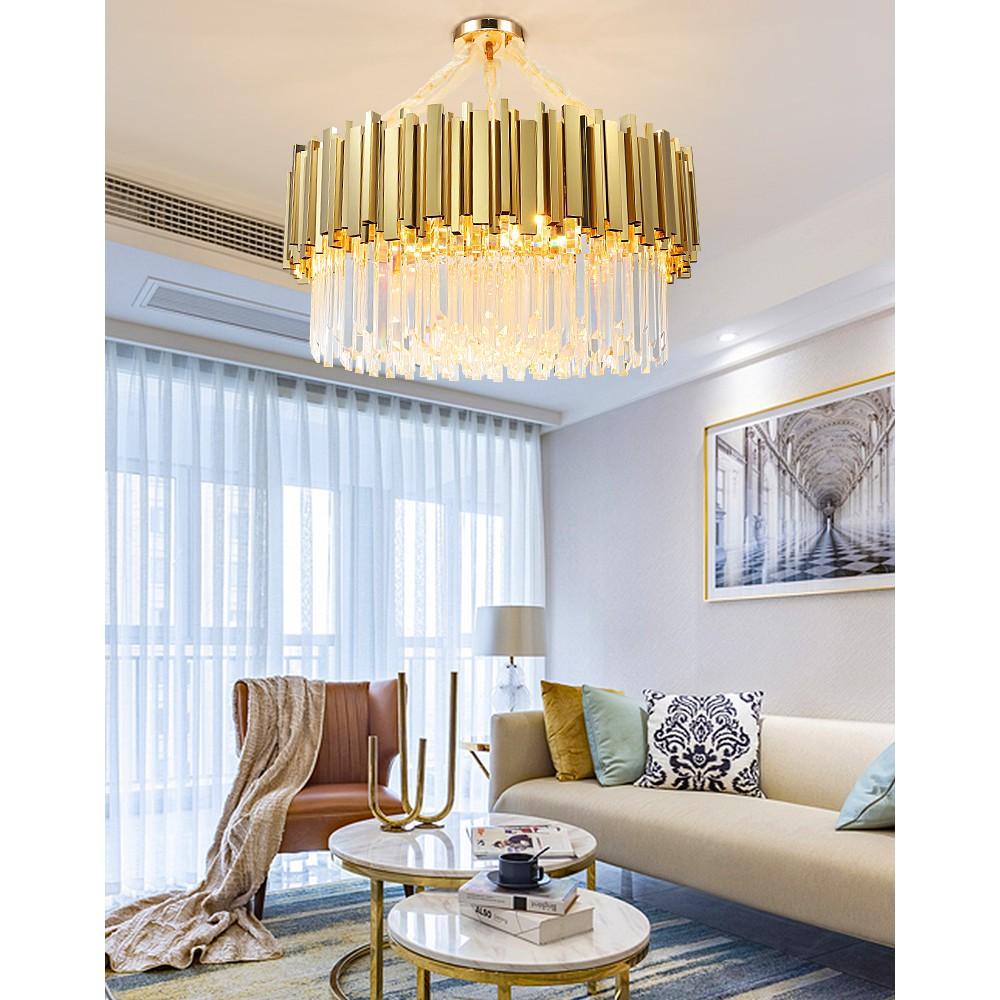 Post Modern Chandelier Living Room Simple Light Luxury Restaurant