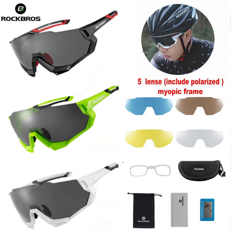 Polarized Cycling Glasses Bike Goggles Classic Cycling Sports Retro Sunglasses