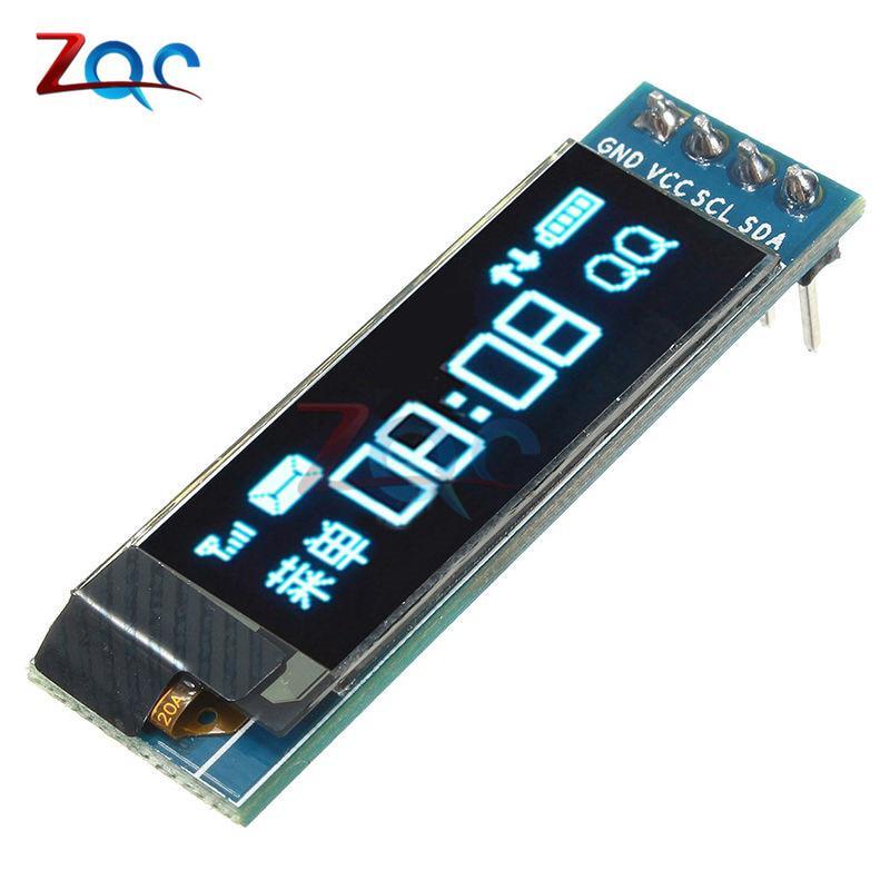0 91 Inch 128x32 IIC I2C Serial White OLED LCD Display DIY
