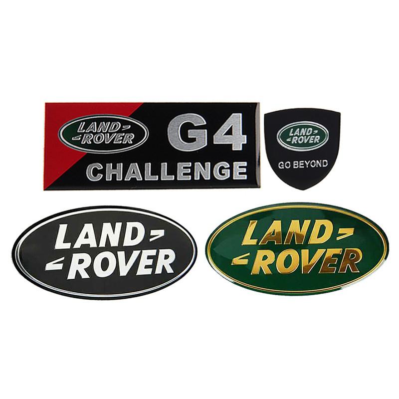 2pcs Powered by RANGE ROVER Window Vinyl Decal Sticker Emblem Logo Graphic