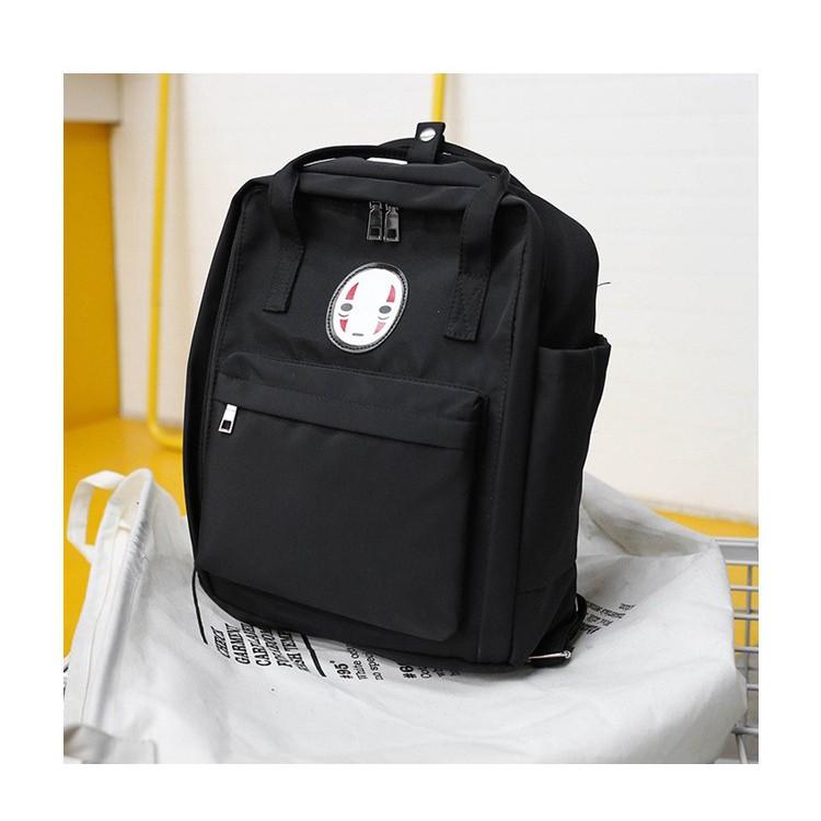 Spirited Away No Face Man Backpack Kaonashi Women Girls Kids Fashion Bags Mxt