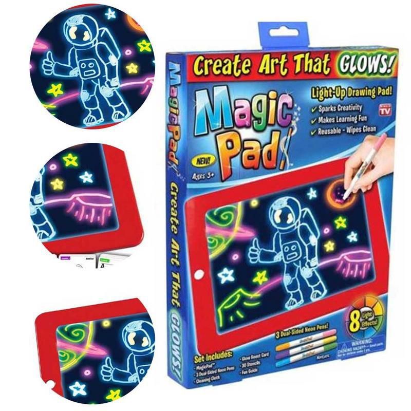 3d Magic Drawing Pad Puzzle Board 3d Sketchpad Tablet For