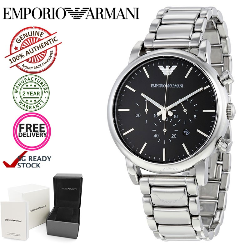 3ae8cd59 Emporio Armani AR1894 Classic Chronograph Men's Watch [In stock SG]