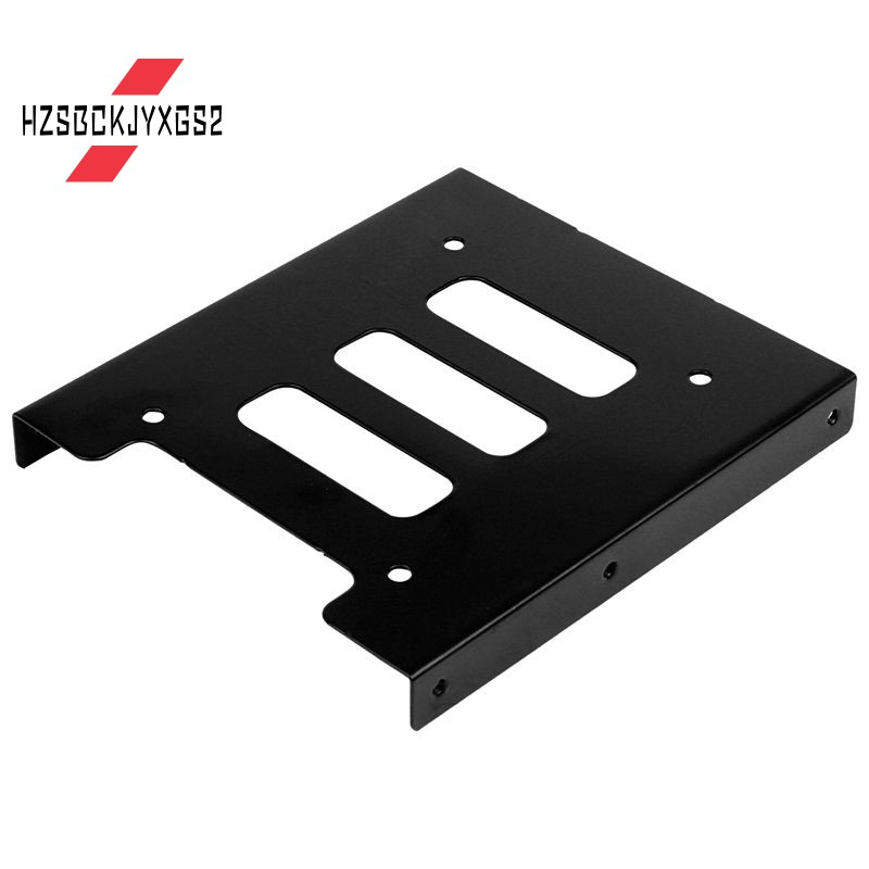"2.5/"" To 3.5/"" SSD HDD Metal Adapter Mounting Bracket Hard Drive Holder For PC XS"
