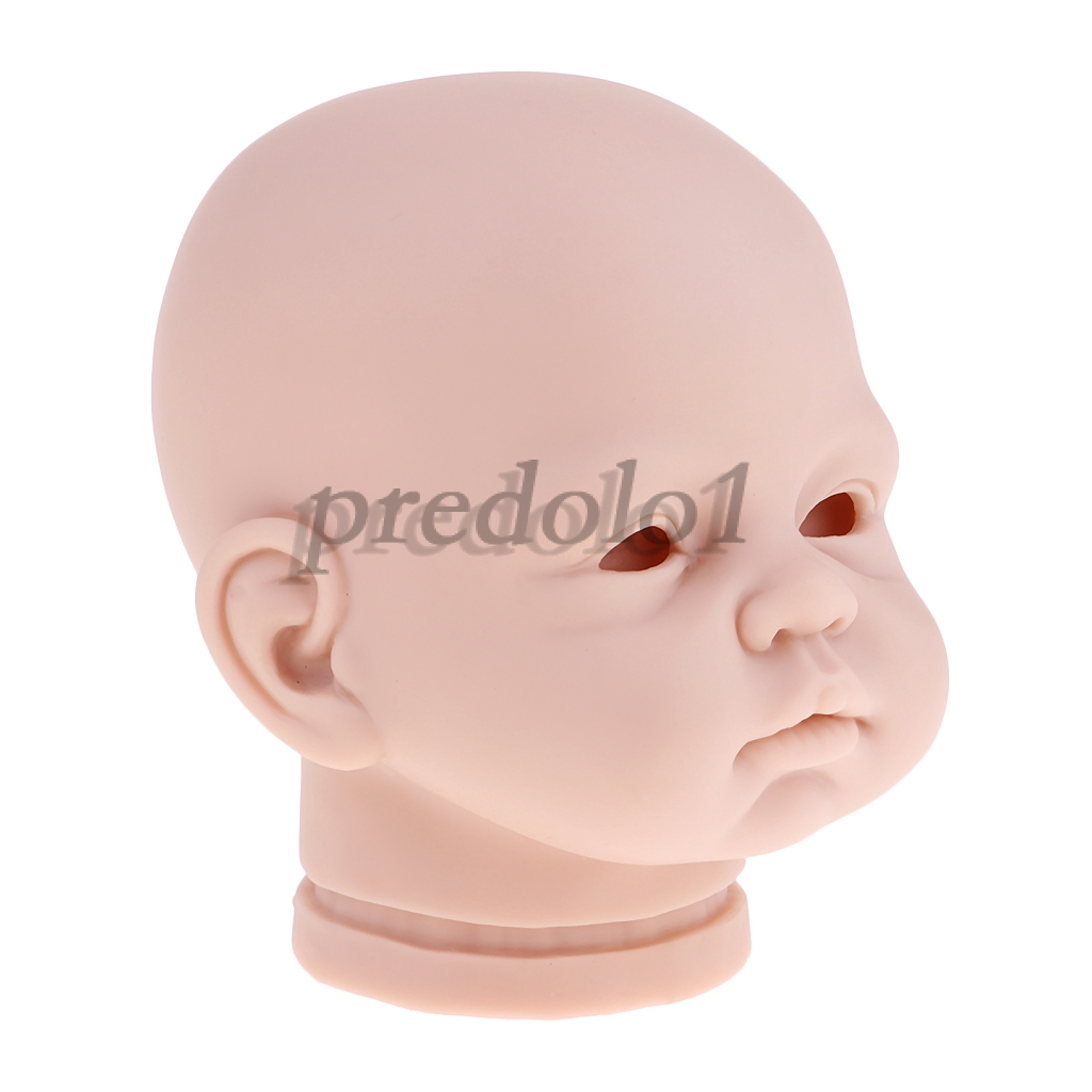 "20/"" Unpainted Reborn Kits Baby Doll Soft Silicone Head Arms Full Legs DIY #2"
