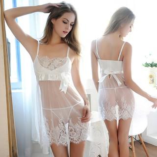 b74165a9a5 ... Women Sleepwear Seductive Lingerie Pretty Perspective Lace Suit Gallus  Top. like  1